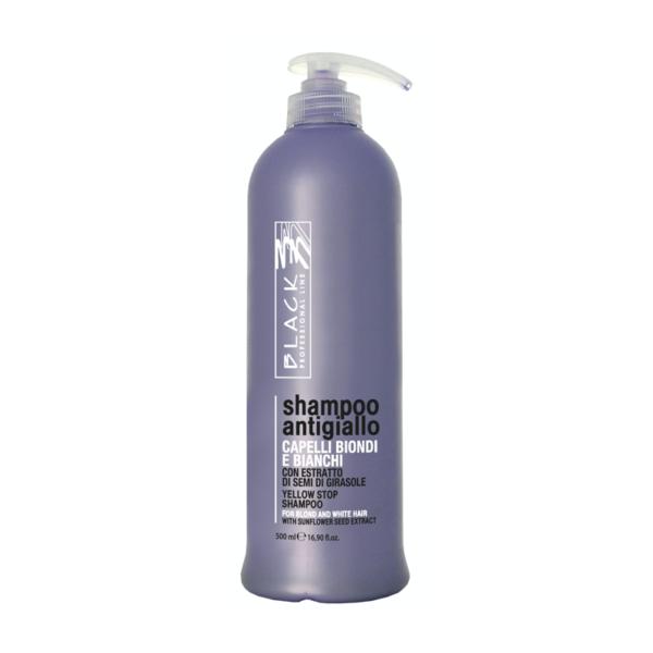 Black silver šampón