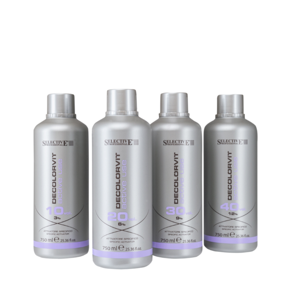 Selective oxidant proti žltnutiu vlasov