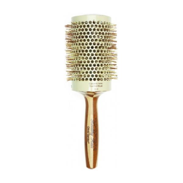 Olivia Garden Healthy Hair Thermal 63 - bambusová kefa na vlasy